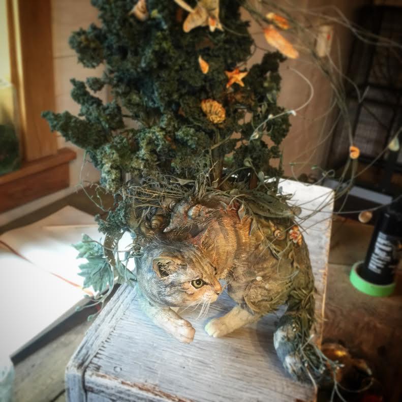 Ellen Jewett EJewettsculptur Twitter - Surreal animal plant sculptures ellen jewett