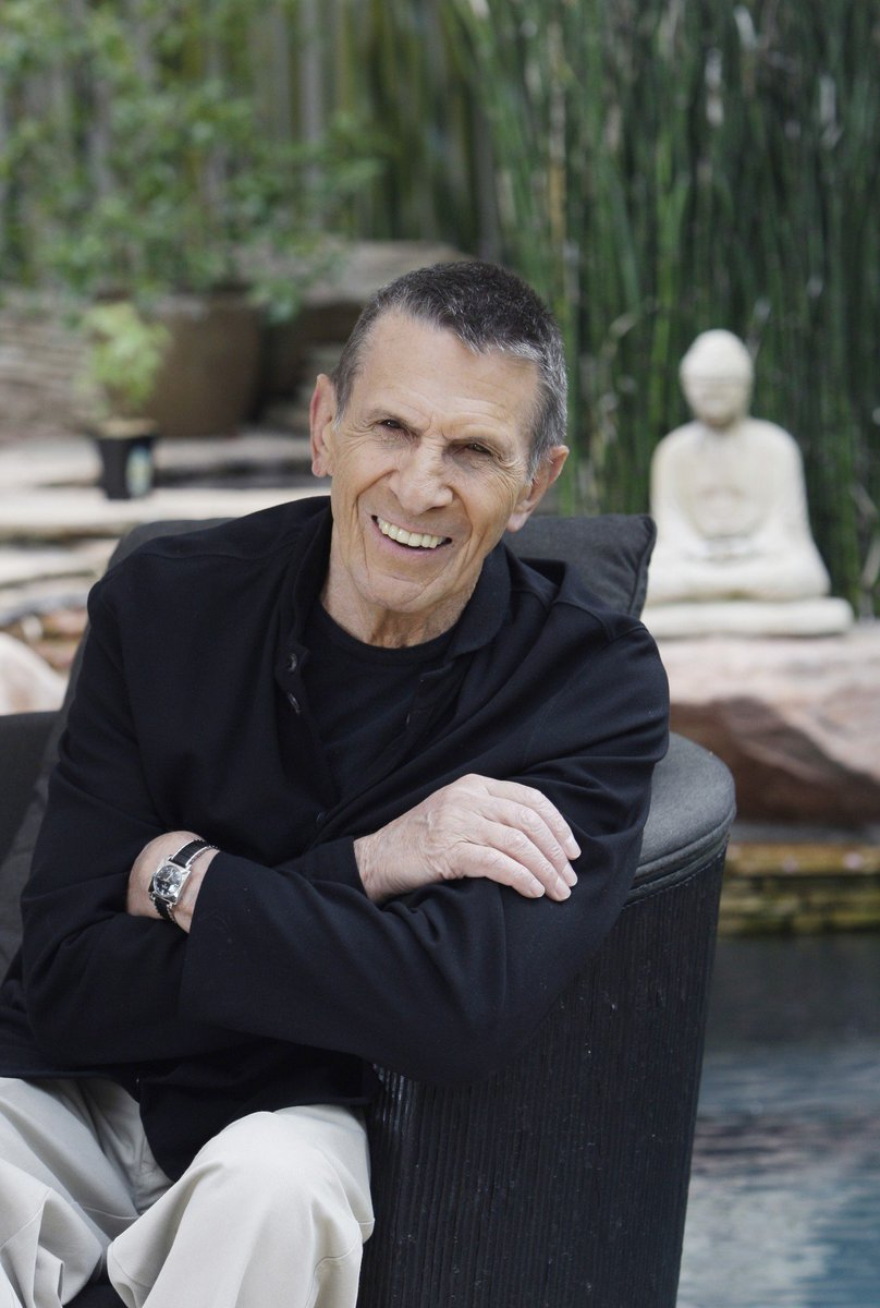 "Leonard Nimoy Quotes Leonard Nimoy On Twitter ""a Life Is Like A Gardenperfect"