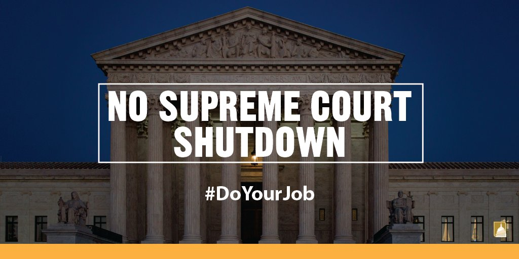 Attn GOP: Senate has confirmed 17 #SCOTUS justices in presidential election years. #DoYourJob https://t.co/Mdm0P5SRC4