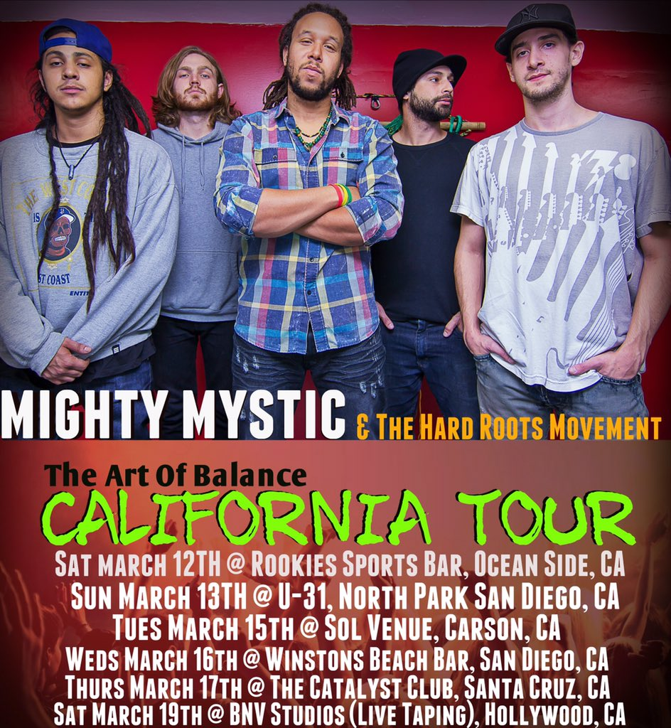 #California #Tour gonna be heavy! Check the full run here. https://t.co/Nw7UZnAQDc https://t.co/hNNPHc3YP1