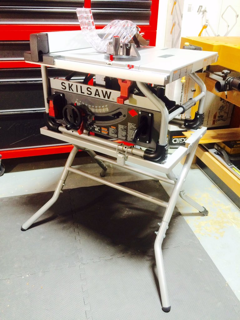 Real Tool Reviews On Twitter It 39 S Here The New Skilsaw 10 Wormdrive Table Saw Skiltools