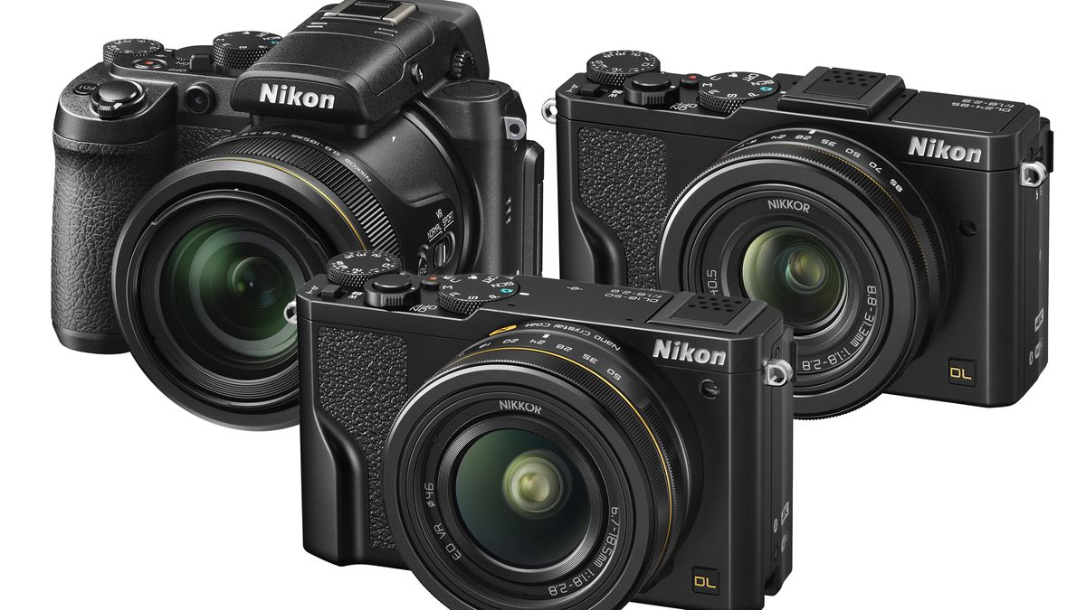 Nikon's new DL Series cameras have insanely fast autofocus and shoot 4K