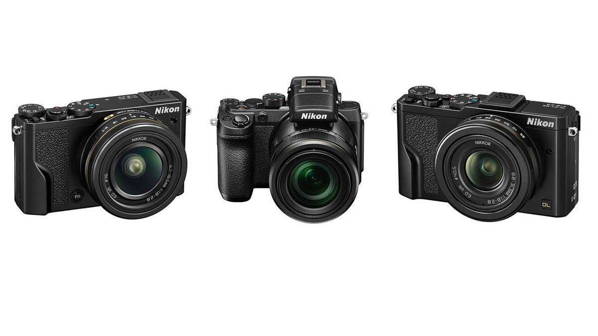 Nikon's new DL cameras are how you make a point-and-shoot