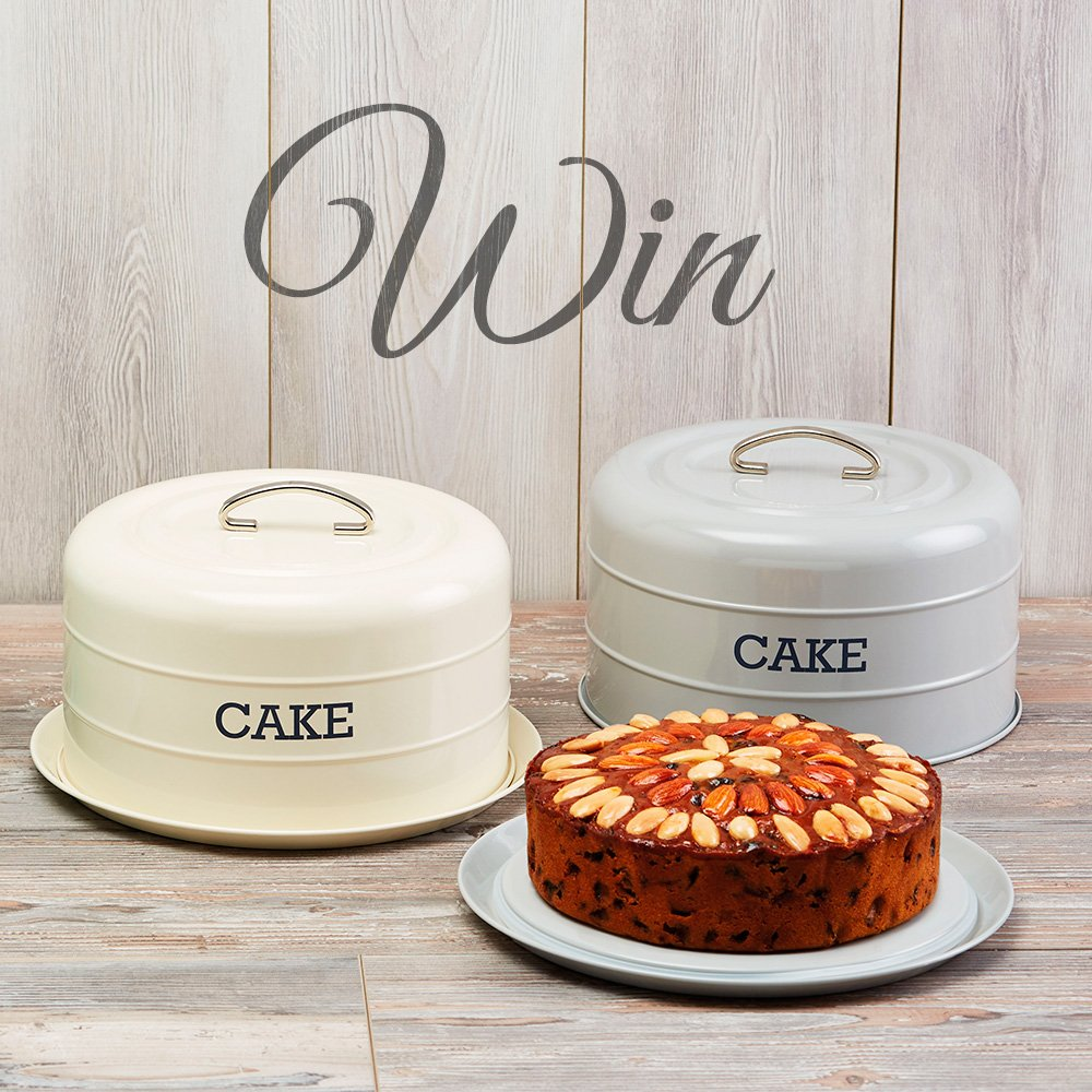 #Competition! We are giving away three beautiful cake tins so you can present your cakes in style! RT to enter. https://t.co/wxBUOrH5jt