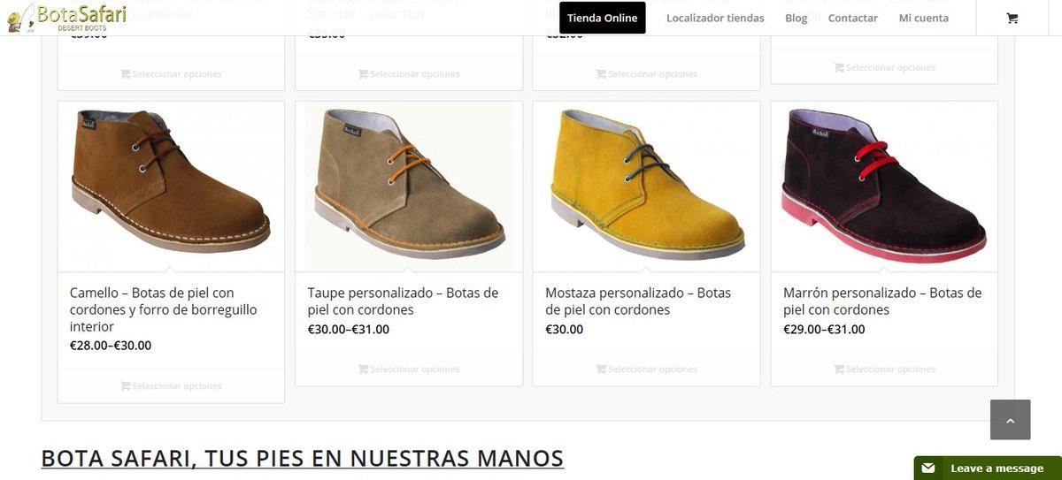 """""""Tienda on line Bota Safari"""" http://botasafari.com/ #tiendas  #somosfabricantes #botas"""