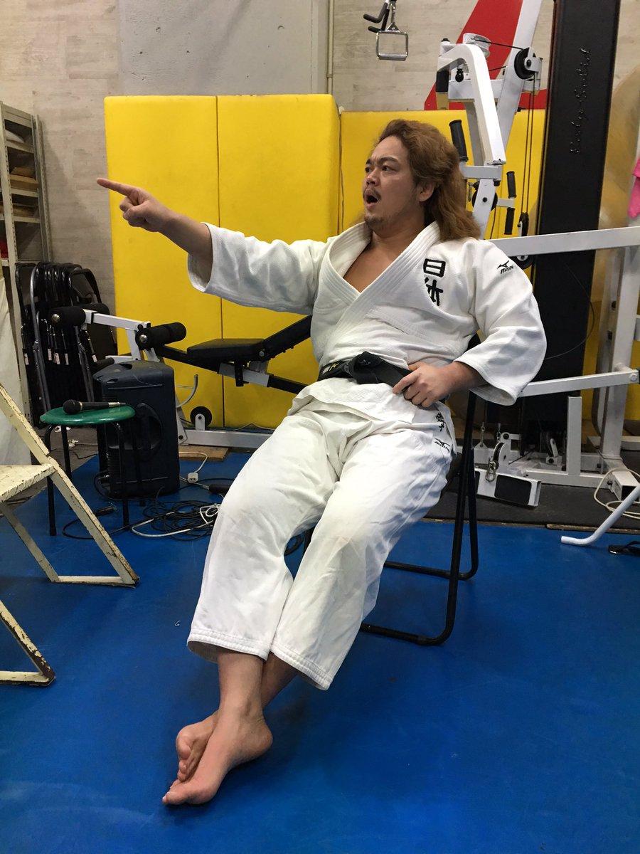 今日の福田先生は、ちょっと違う。 #DDTプロレス教室