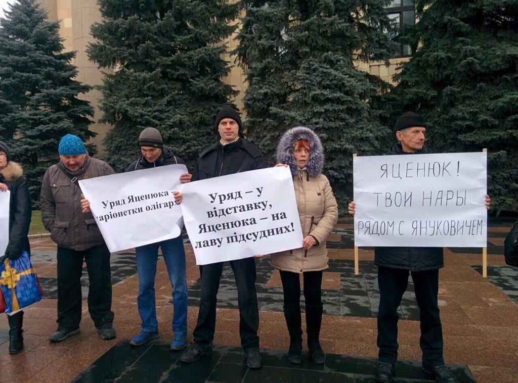 Через проведение фальшивых выборов в Донецке и Луганске Путин хочет получить право вето на будущее Украины, - Яценюк - Цензор.НЕТ 1130