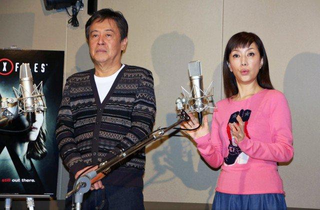 [ドラマ]「X-ファイル」新作、風間杜夫&戸田恵子コンビ復活!13年ぶりアフレコで息ピッタリ!