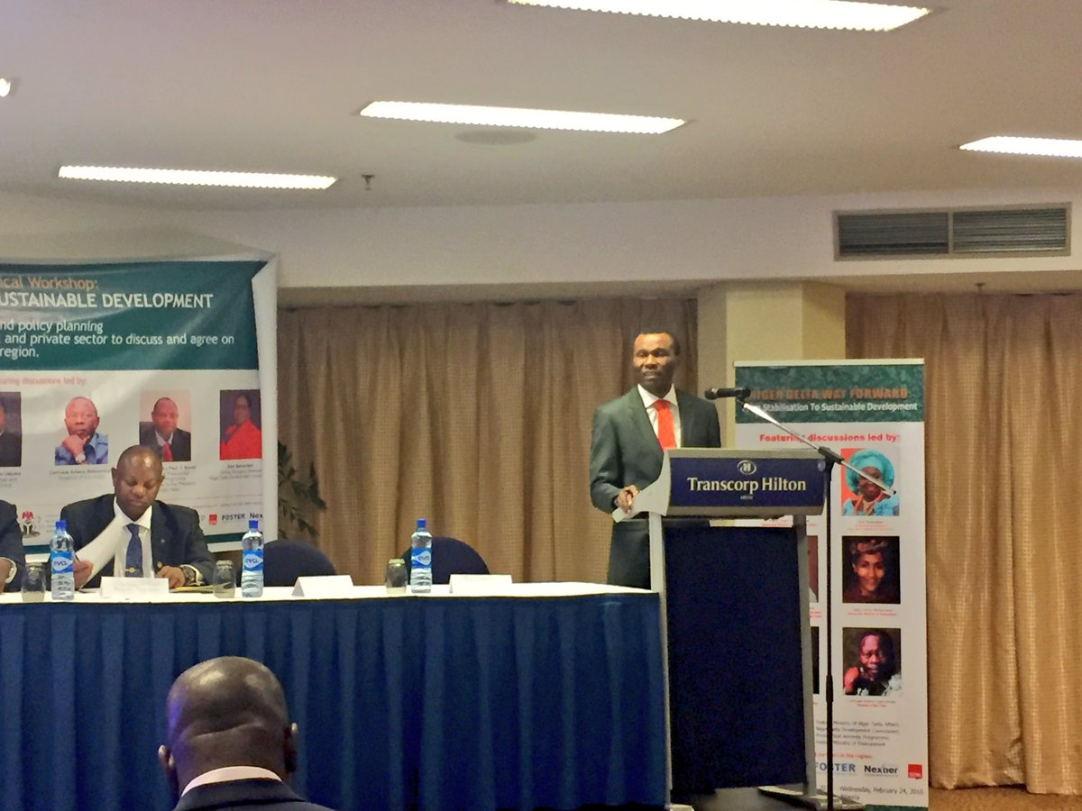 Opening Remarks by the Hon. Minister of Niger Delta, Hon Usani Uguru Usani #NDWayForward https://t.co/hNrOLGAVRr