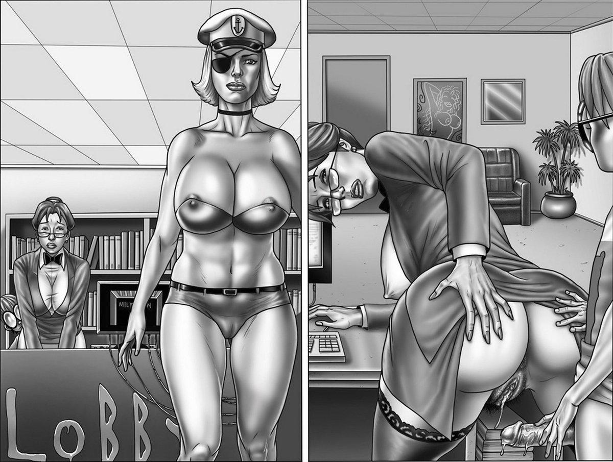 порно комиксы глазком