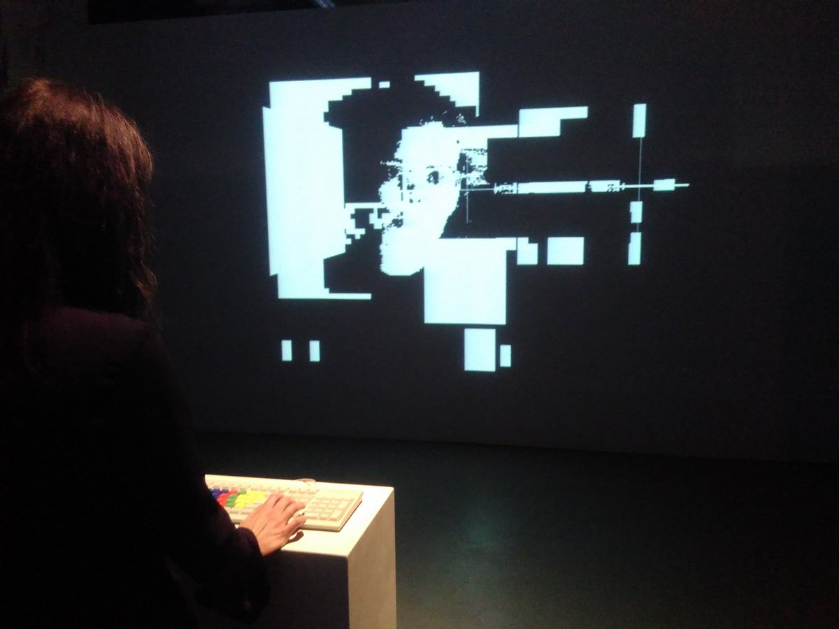 JODI, Wolfenstein 3D Game Modification, 2001 at MU, Eindhoven