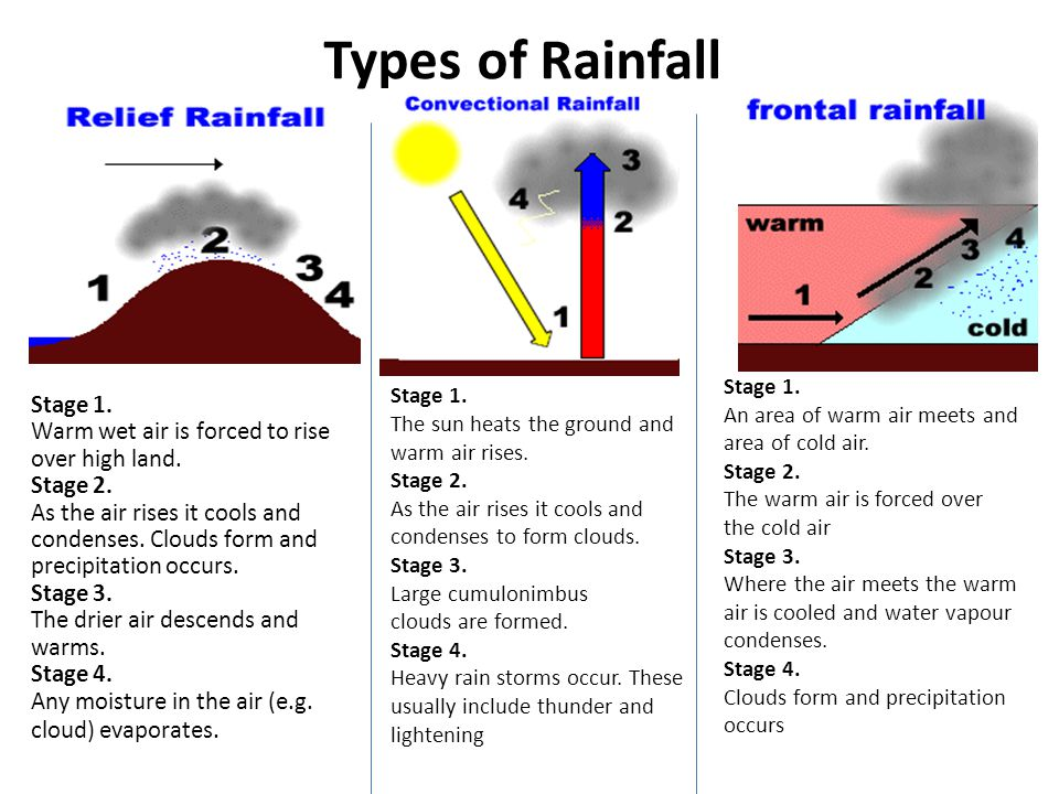 Diagrams Of Types Of Rainfall House Wiring Diagram Symbols