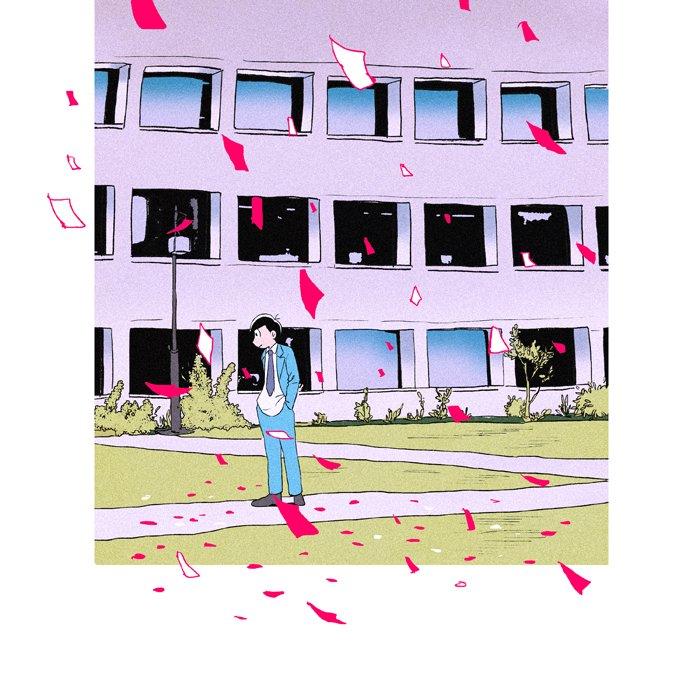 #ふぁぼされた数だけ好きな曲をおそ松さんで描く アカルキミライ/アンダーグラフ 「愛よ 未来よ 夢よ ハレタ日よ 飛び立つ僕らを導いてと ずっと叫んだ」