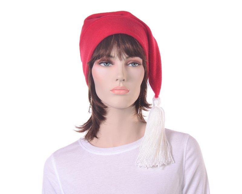 Red Stocking Cap Elf Hat Long Beanie Hat White Tassel Men Women Hat https://t.co/Mp1mxFfb4F #Etsy #RedPointedHat https://t.co/wX2AVZHYL6