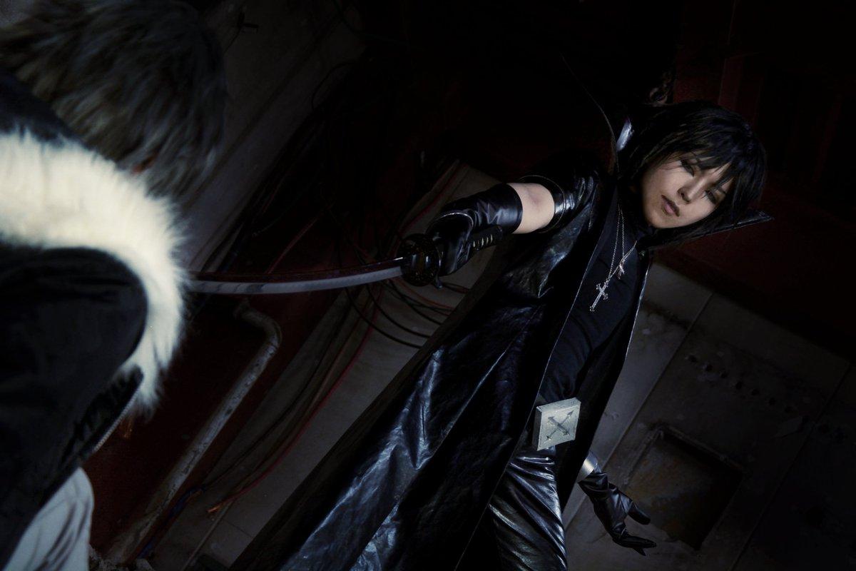 『咎狗の血/アキラ』  「あんたに殺されるくらいなら、舌噛み切って死んだ方がまだマシだ」  シキ/リヤさん(@ayahit013 ) photo by ありすv