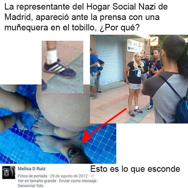 """Resultado de imagen de Melisa D. Ruiz la líder neonazi ,  Hogar Social Madrid,"""""""""""