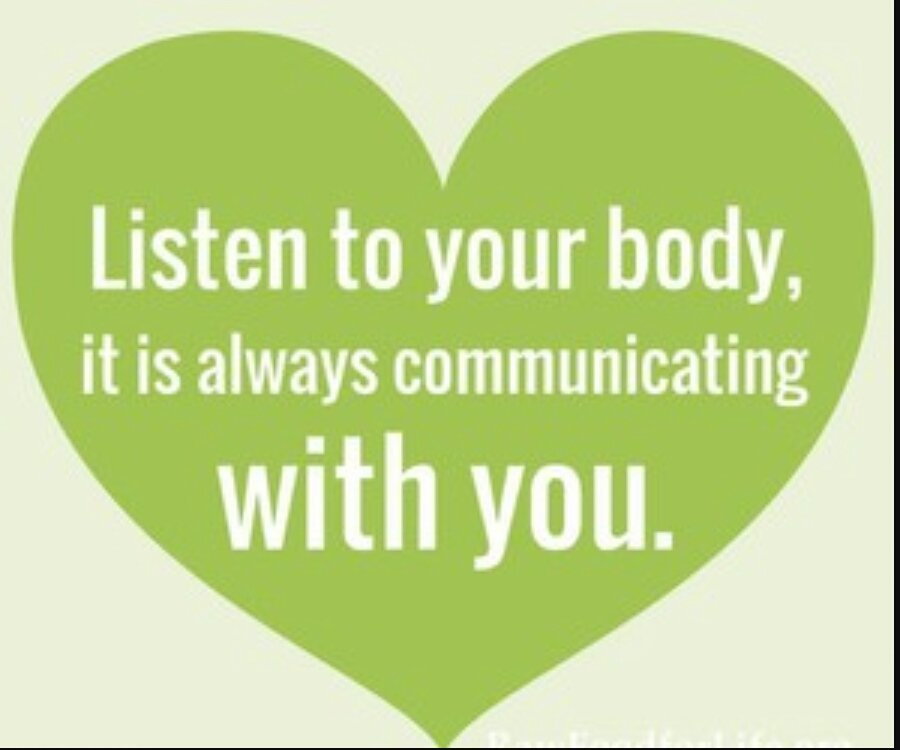 "Mantra Wellness On Twitter: ""Listen To Your Body, It Is"
