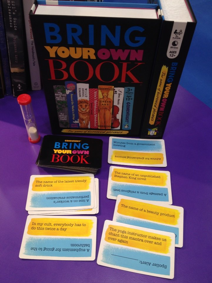 28+ Bring Your Own Book Game Pics