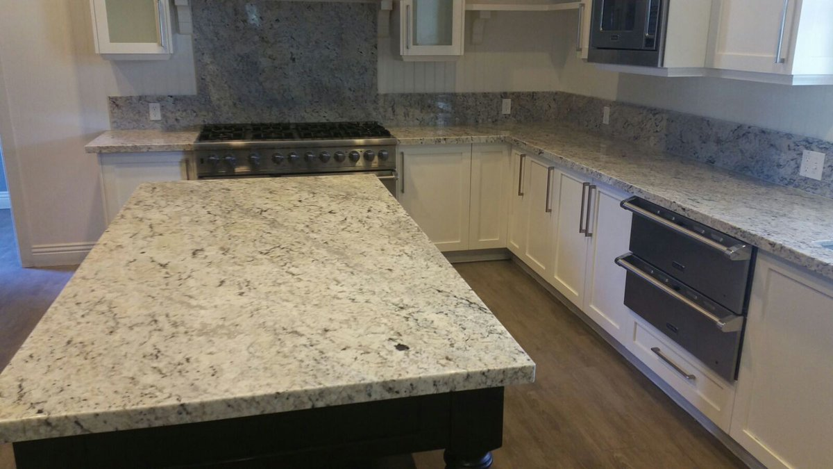 White Ice Granite Kitchen Arizona Tile On Twitter White Ice Granite Counters By Amado