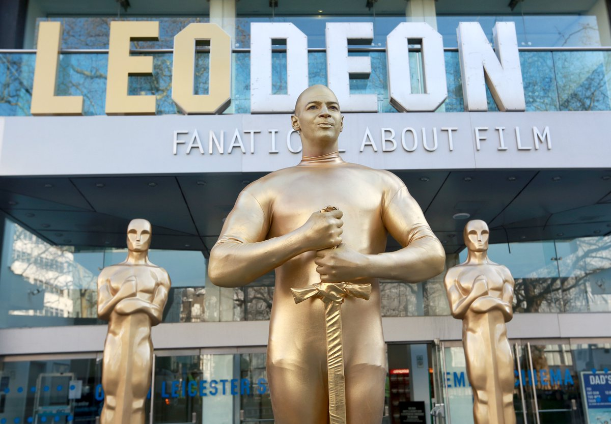 ODEON rebrands as 'LEODEON' as it backs DiCaprio to win an Oscar this Sunday
