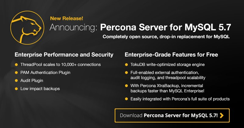 New Release: Percona Server for #MySQL 5.7 is now available! Get your copy here: https://t.co/MhzRyL77pE https://t.co/ES2C8ghLdk
