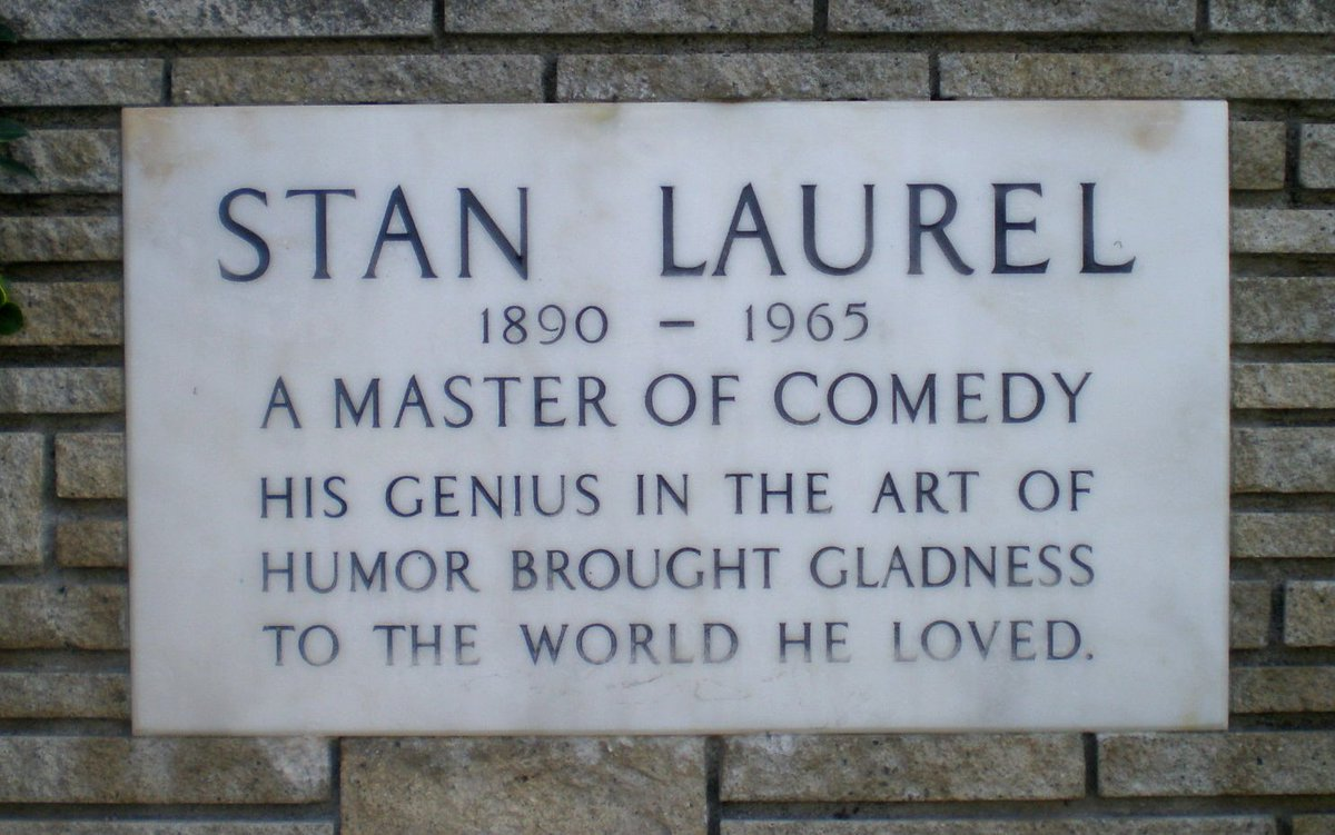 Image result for stan laurel died