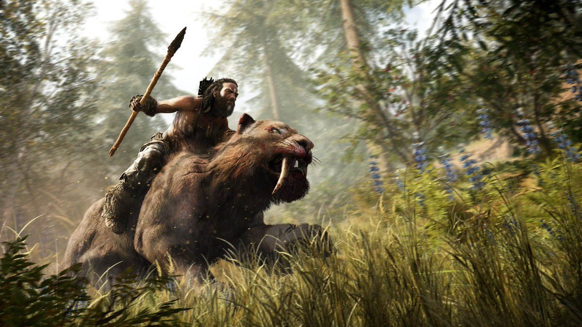 Congratulations to all the teams who worked on #FarCry Primal! https://t.co/UdC3T6ox22