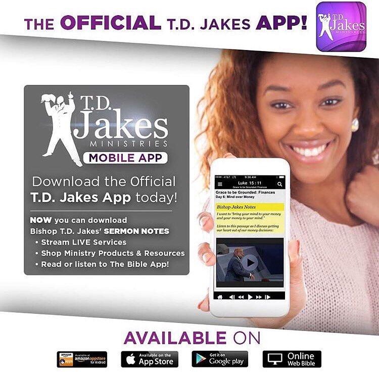 T D  Jakes on Twitter: