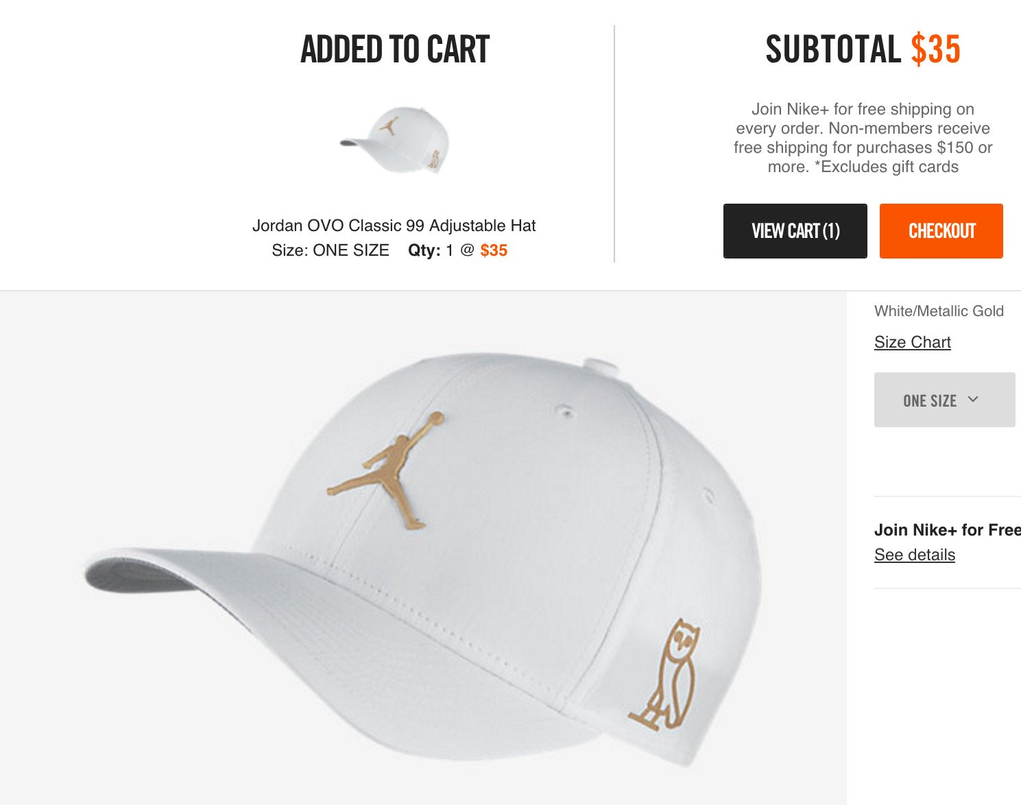 e6403a6656d ... wholesale j23 iphone app on twitter white jordan ovo classic 99 hat  straight to cart on ...