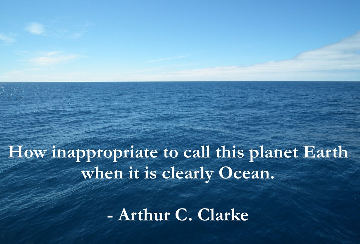 My favorite quote keeping spinning through my head at Ocean Sciences! #OceanLove #OSM16 #OSM2016 https://t.co/LVDRnvpe6Q