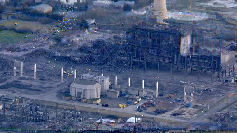 Major Incident: Blast At Didcot Power Station, do hope no major #casualties  https://t.co/0jf8oG5Ncf https://t.co/qGzbv6lSj7