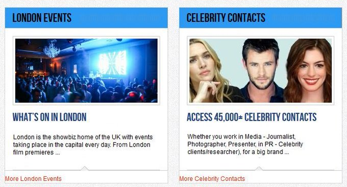 Get closer to the stars with the inside scoop on upcoming events & celebrity contact details https://t.co/AY1IbwruIw