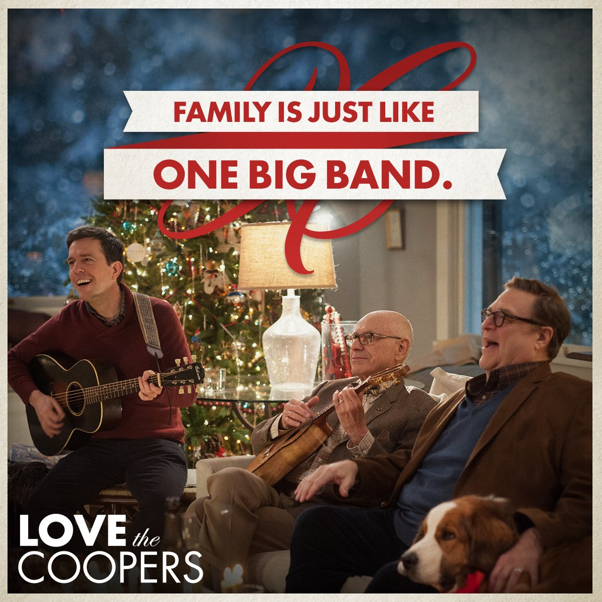 Love is the rhythm a family needs to stick together. #LoveTheCoopers https://t.co/isGw4BXACl