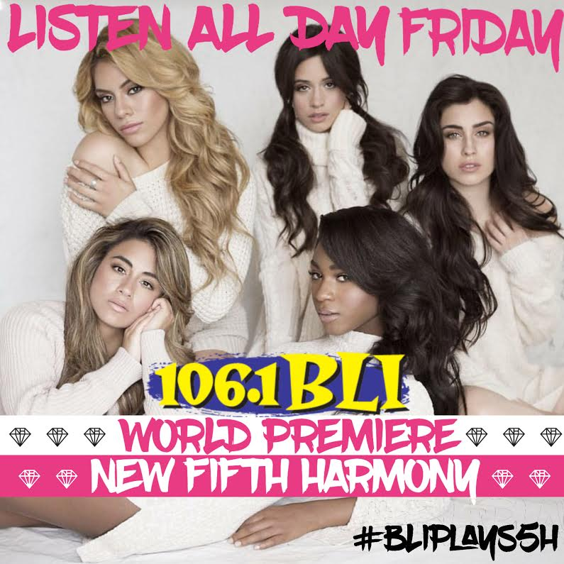 #HARMONIZERS!!! We're going to be playing the new @FifthHarmony single Friday!!!! Get #BLIplays5H trending!! https://t.co/6TKhhzjjMR
