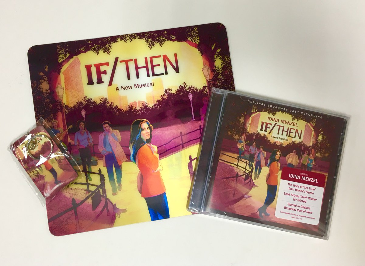 RETWEET for the chance to win this @IfThenMusical merch. Begins tonight! #IfShareThenWin https://t.co/WtrBu1PzVt https://t.co/WUd5kzwVoY