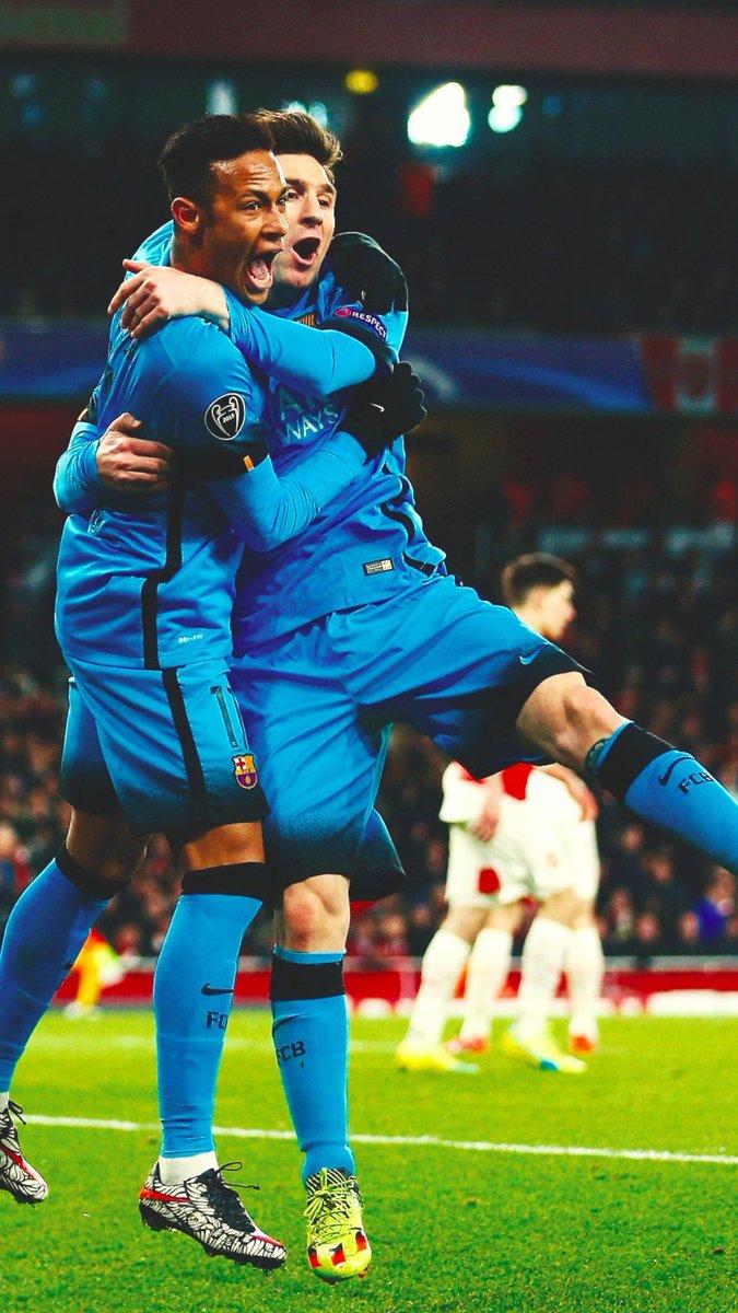 Keemstar On Twitter Wallpaper Messi And Neymar Celebrating