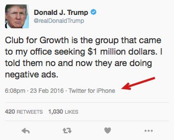 It's good to see Trump back on Apple products again. https://t.co/xqp0uVRJw2