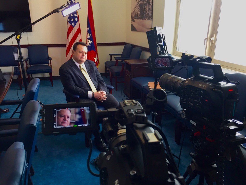 We filmed an excellent interview yesterday with Stevan Mitchell @TradeGov for @FederalTimes, @MichaelHardyNet