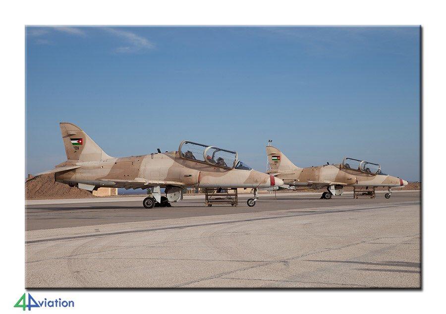القوات الجوية الأردنية تستلم طائرات التدريب المتقدم Hawk Mk63 من دولة الإمارات Cb7I3bHXIAI_1pB