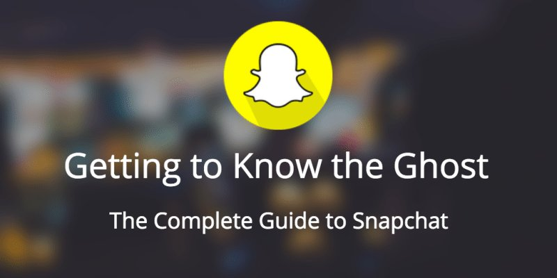 Getting to Know the Ghost: The Complete Guide to Snapchat ft. @Everette https://t.co/g23Nm5HxT8 https://t.co/vlc3W49ekJ