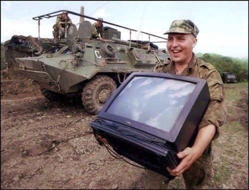 Российские военные мародерствуют на Донбассе, - ГУР Минобороны - Цензор.НЕТ 6542