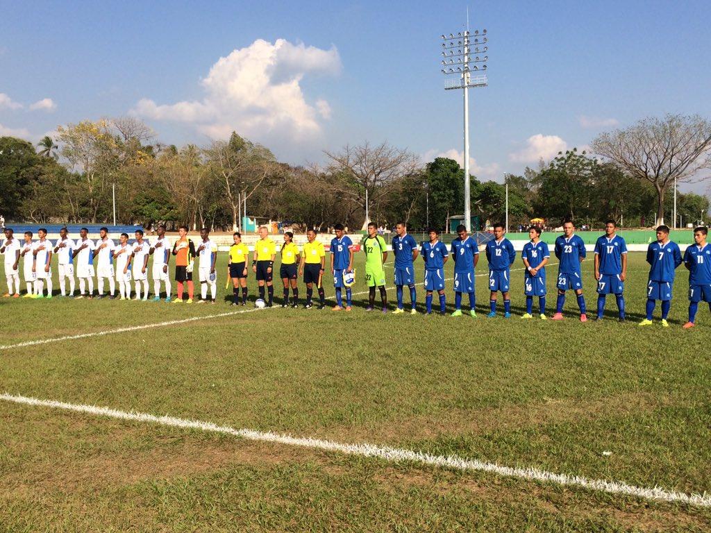 Dos juegos amistosos contra Honduras en Febrero del 2016. Cb7mgd8VIAA5AC2