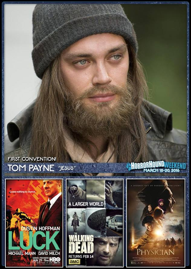 We are thrilled to announce that Tom Payne will be making his 1st convention appearance at HHW march 18-20! https://t.co/LVSu0zKtys