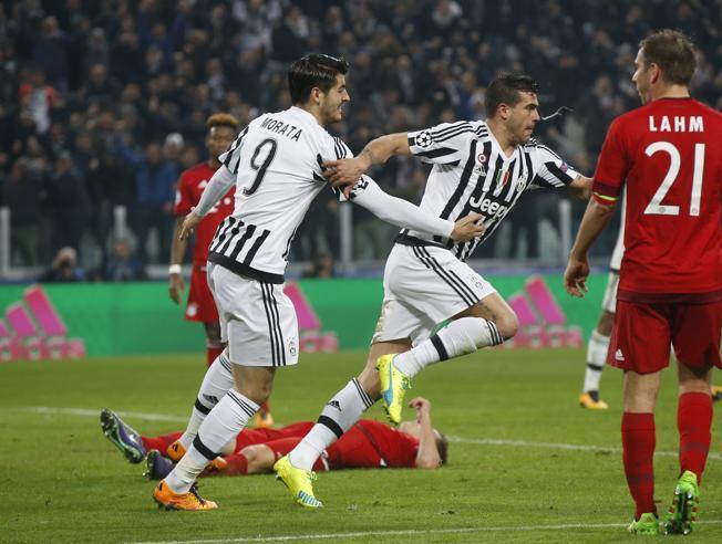 Diretta Champions: Juventus-Bayern Monaco 2-2, rimonta bianconera