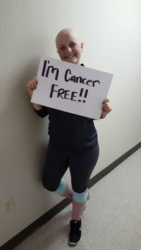 Remember the WB student battling cancer surprised by classmates on Valentine's day? Guess who's cancer free!