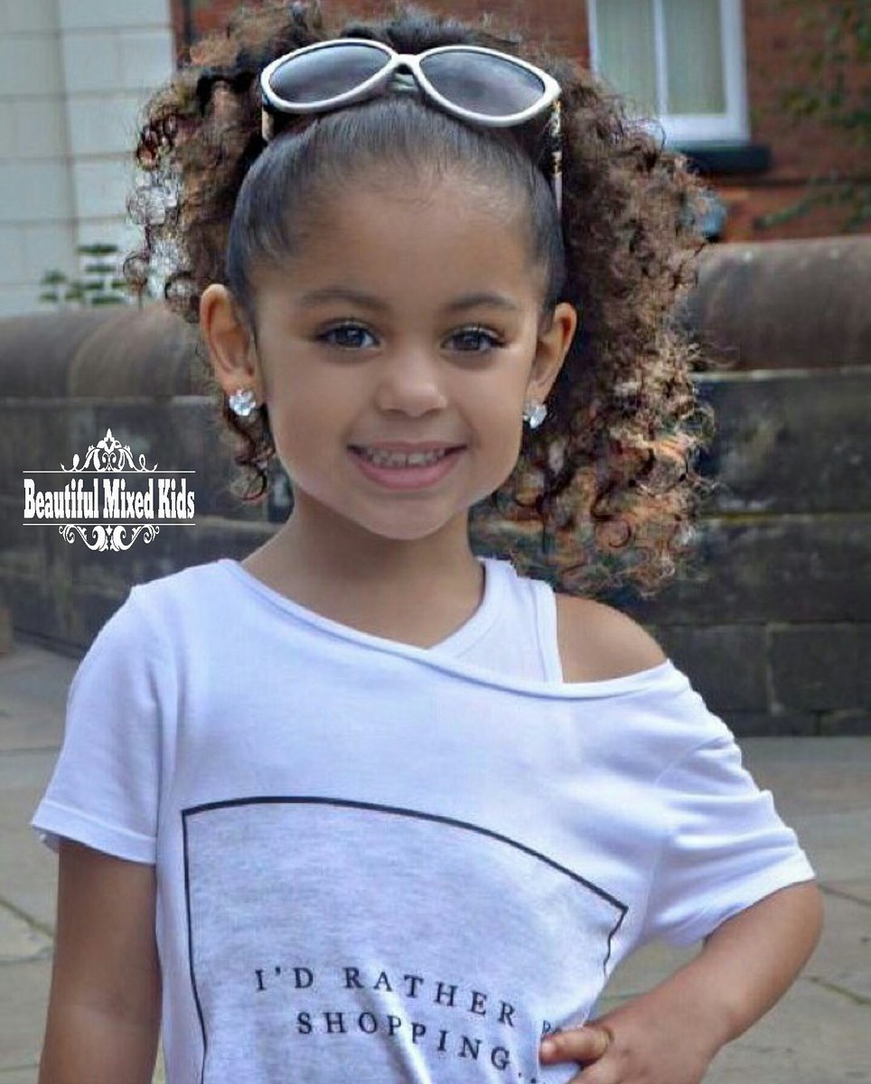 "BEAUTIFUL MIXED KIDS on Twitter: ""Jayellese - 4 Years ..."
