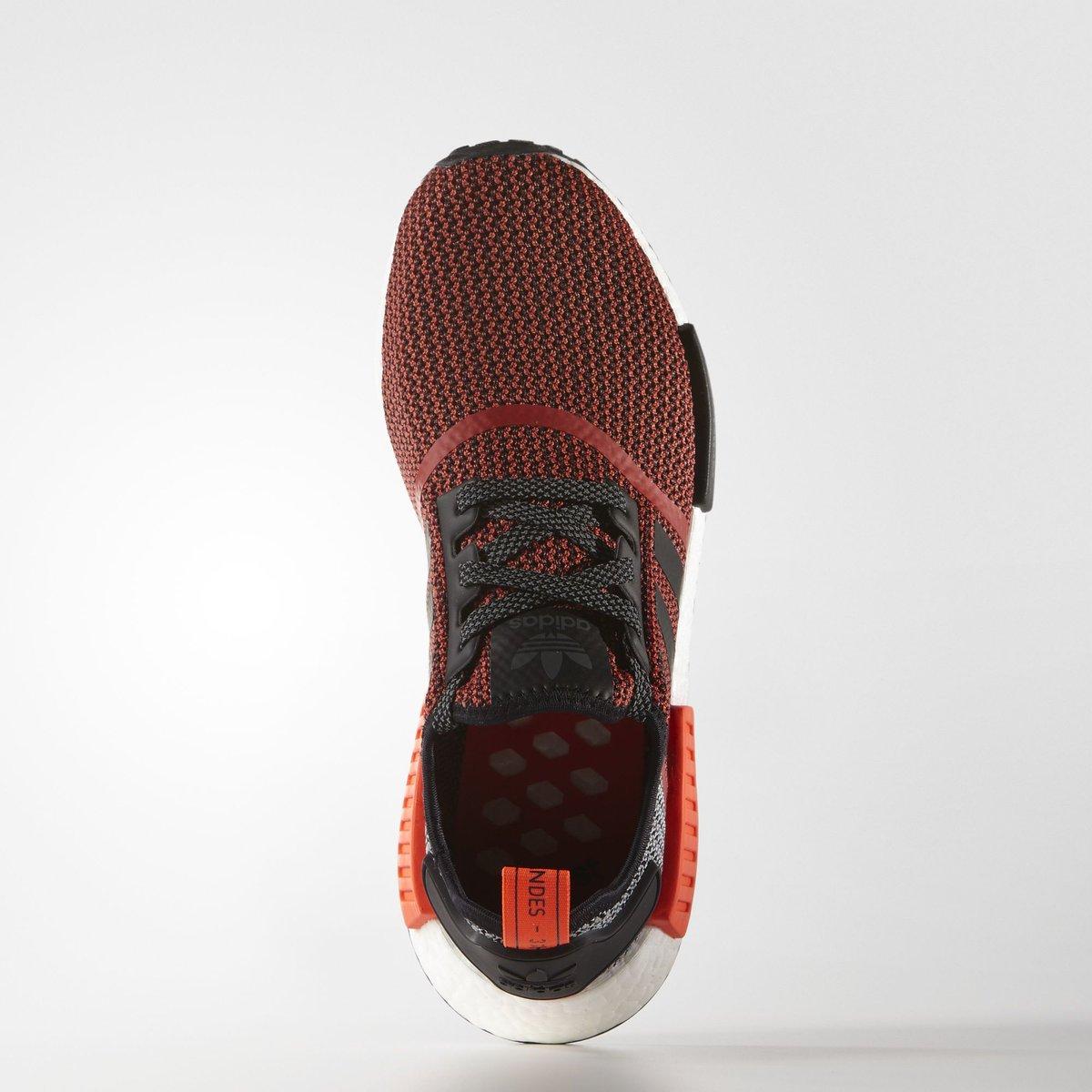 Adidas Nmd Runner Red Black White