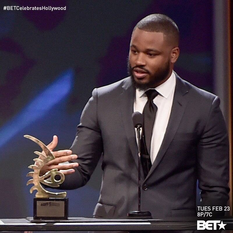 Ryan Coogler humbly accepts his Rising Star award. THIS is why #ABFFawards are so important #BETCelebratesHollywood https://t.co/1DyYNM8XKe