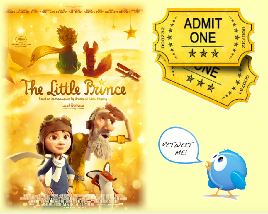 Follow me & RT for a chance 2 #WIN 1 of 5 sets of movie passes 2 the SCREENING in #Toronto on 03/05 #LittlePrincePM https://t.co/Pli0LAjgva
