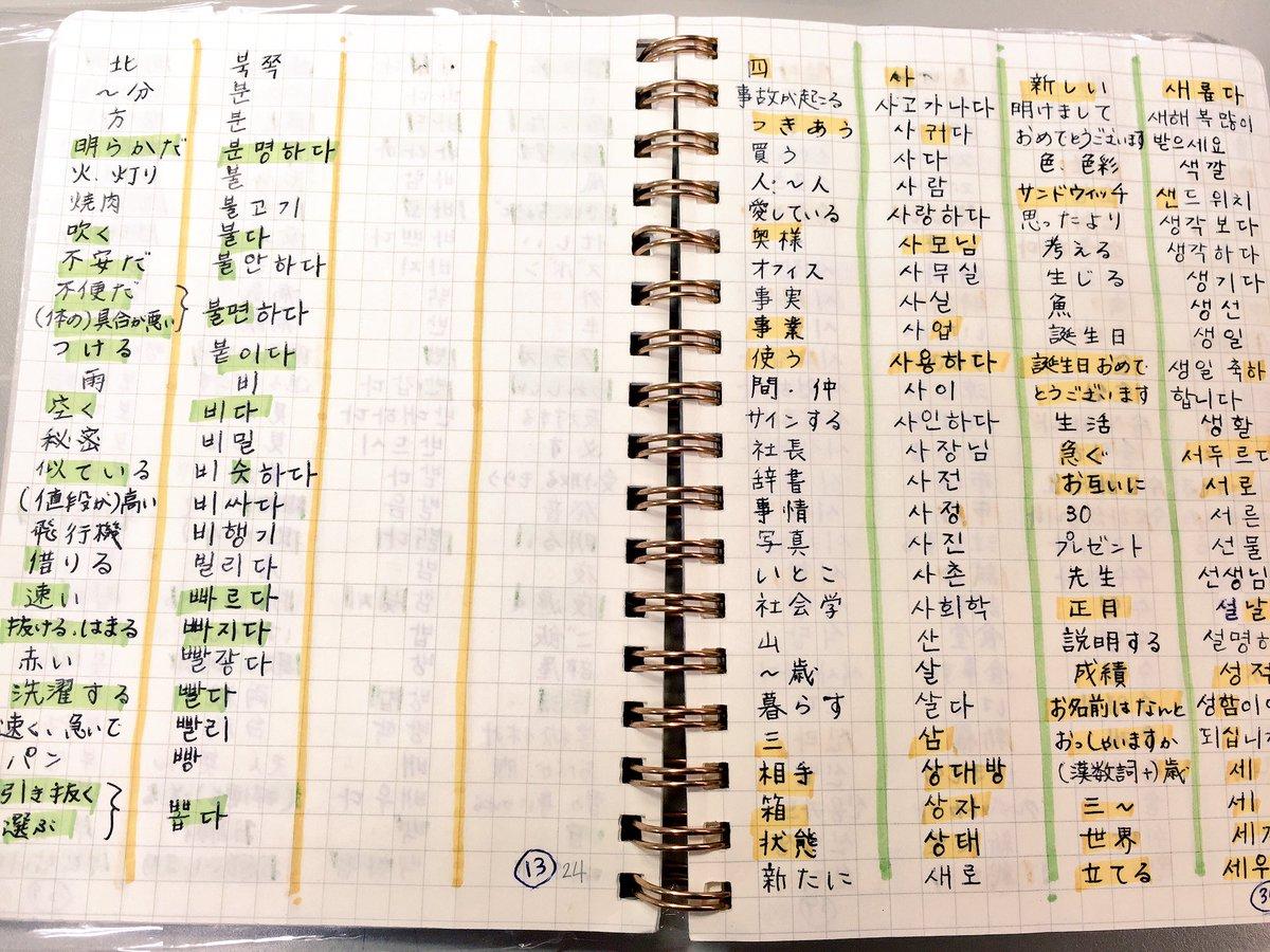 素晴らしい 韓国 語